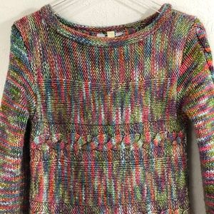 ACORN - COLORFUL HEAVYWEIGHT KNIT SWEATER